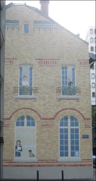 paris 15 façade