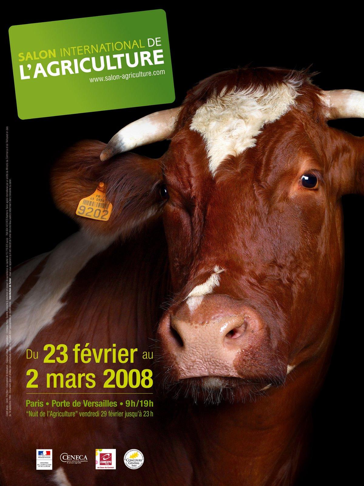 Porte de versailles salon de l 39 agriculture 1 2 for Porte de versailles salon de l agriculture